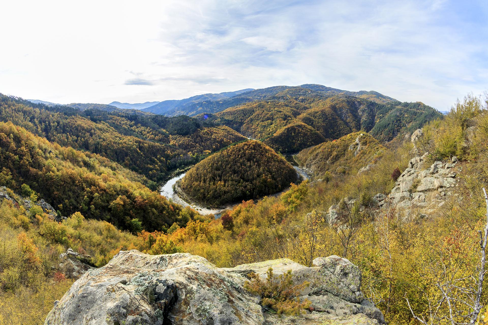 Есен по река Арда