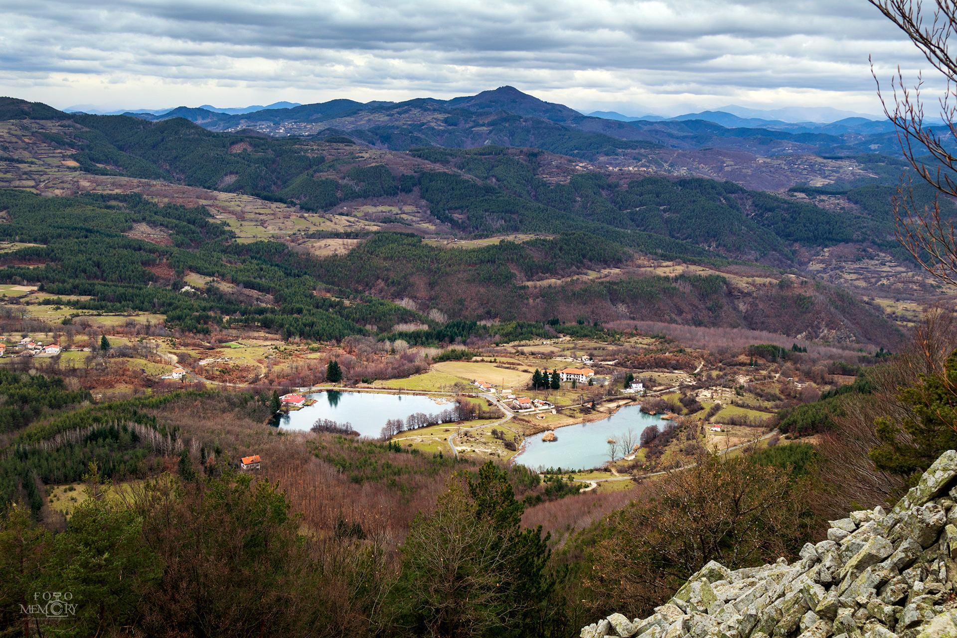 Езерата на село Лебед