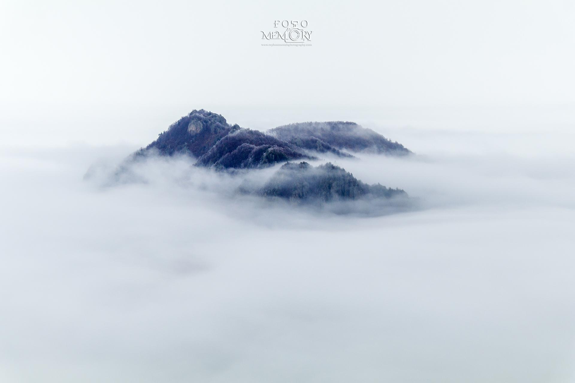 Родопите в мъгла