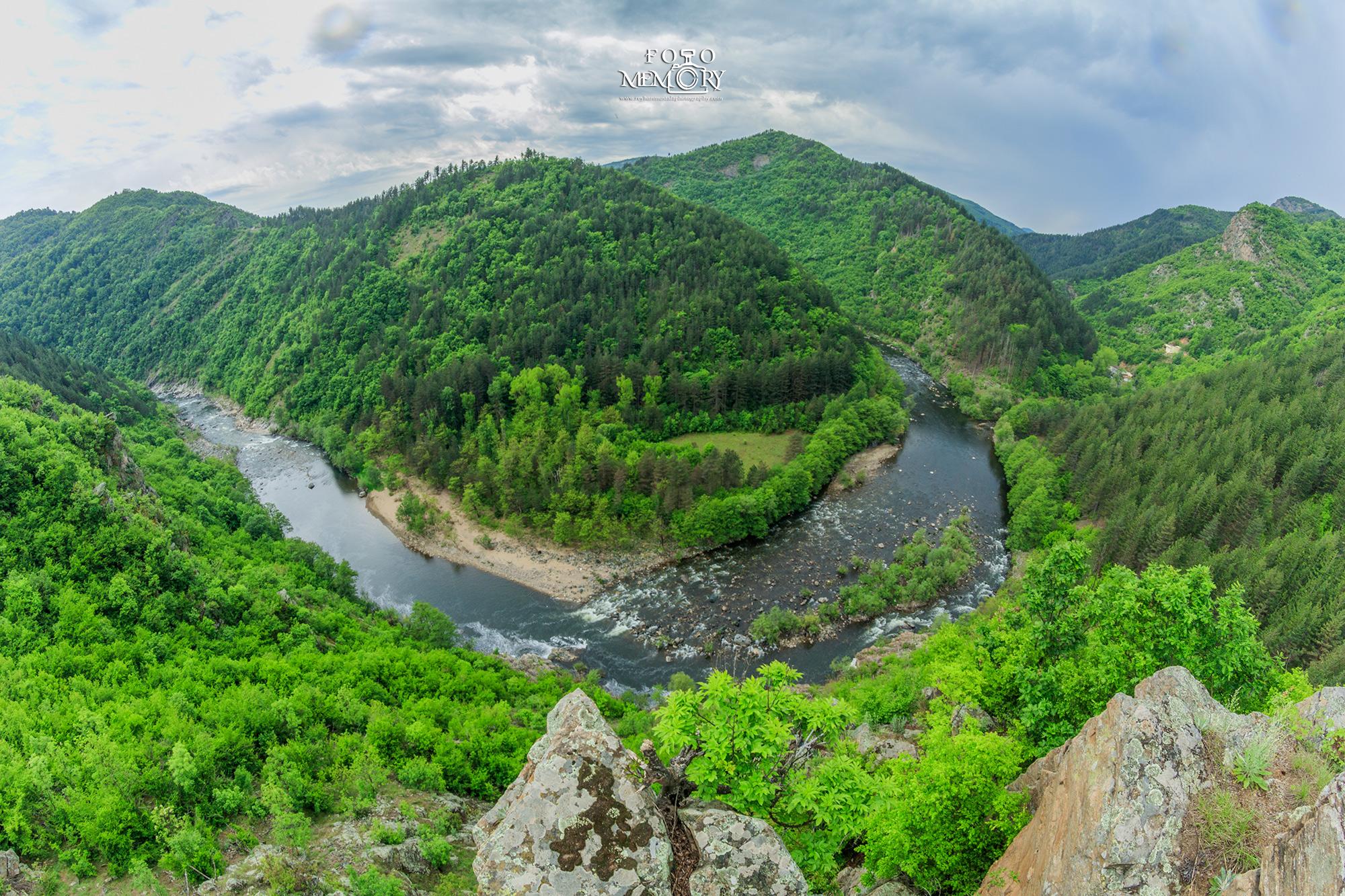 Река Арда меандрите
